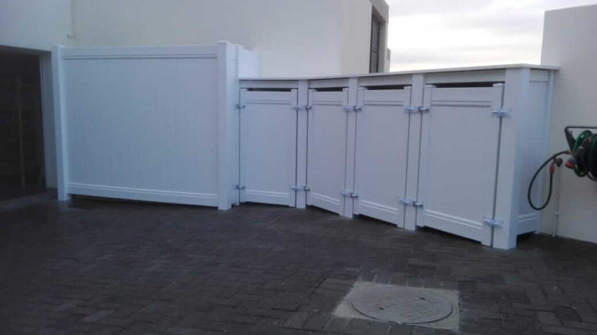 PVC Private Fencing