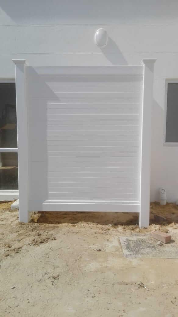 PVC Shower Screen