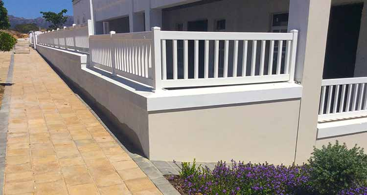 PVC Balustrade Fencing