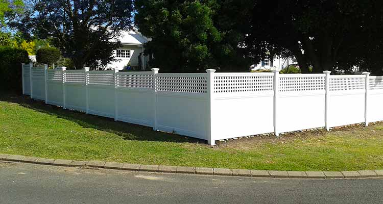 PVC Semi-Private Fencing
