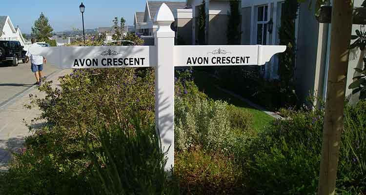 PVC Street/ Sign Posts